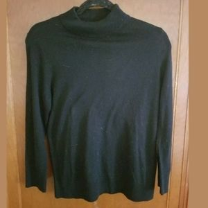 Moth by Anthropologie Black Mock Neck Sweater S